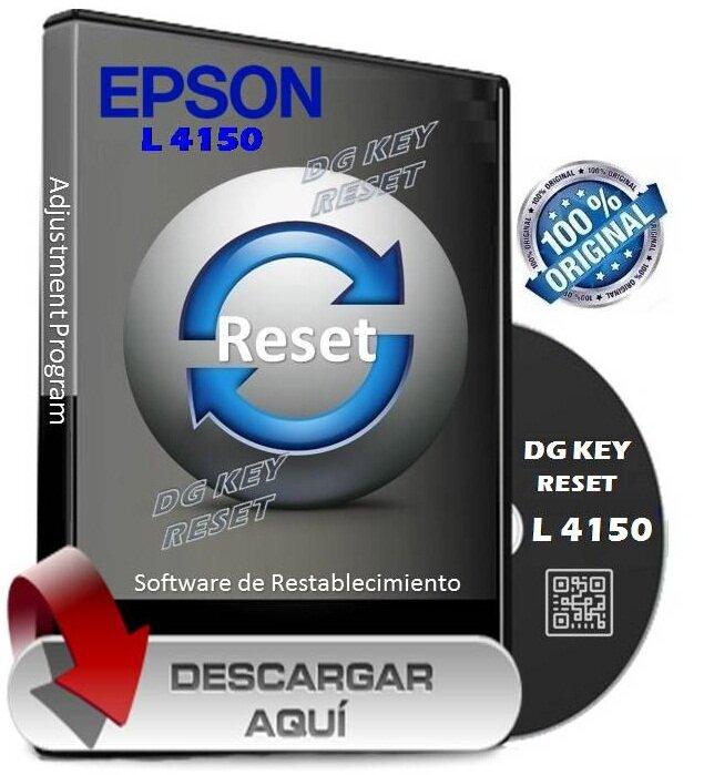 Reset Epson L3110 L4150 L380 L575 L4160